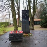 the Jewish part of the cemetery