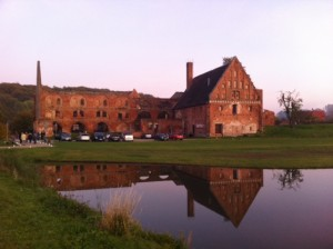 Ruins of parts of the former Münster complex