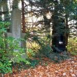 two hidden tombstones