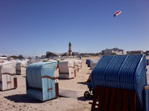 beach chairs Warnemünde
