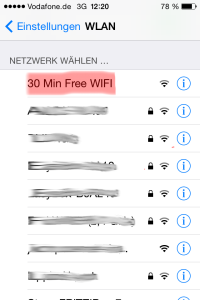 Step 1: Select Network