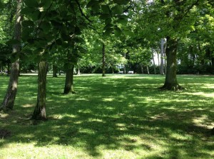 Kurpark -- Relax in the shade