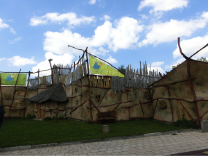 The setting of the amazing animal show
