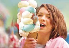 Tons of Ice Cream