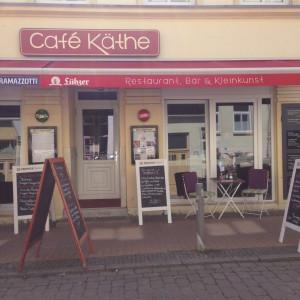 Café Käthe on a sunny day