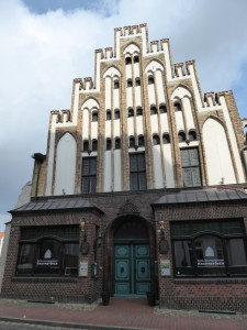 Hanseatic brick house