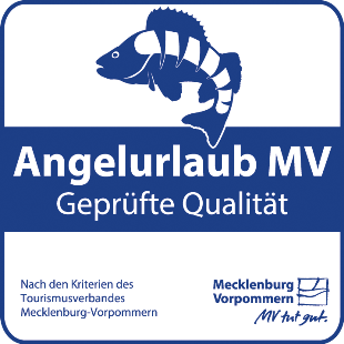 "Qualitätssiegel ""Angelurlaub MV - Geprüfte Qualität"""