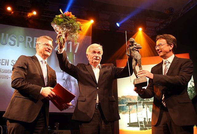 Jürgen Seidel wurde mit dem 8. Tourismuspreis des Landes geehrt