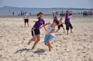 Ultimate-Frisbee-Turnier am Karlshagener Goldstrand, Foto: UTG