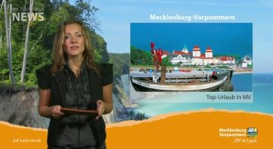 """MV Tourismus-News"" November, Screenshot"