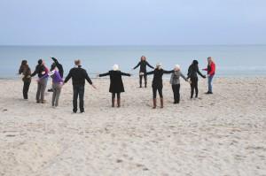 Entspannung am Strand  von Binz, Foto: TZR